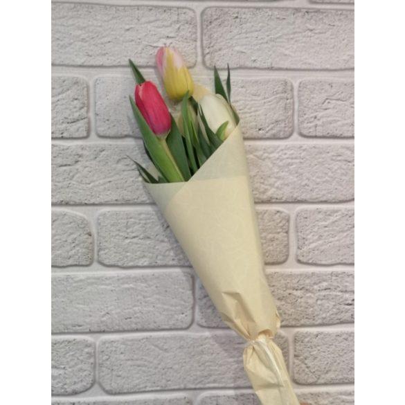 Tulipán csokor  3 szálas