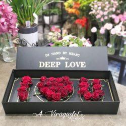 Deep love virágdoboz