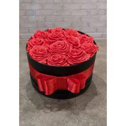 Örök rózsabox vörös
