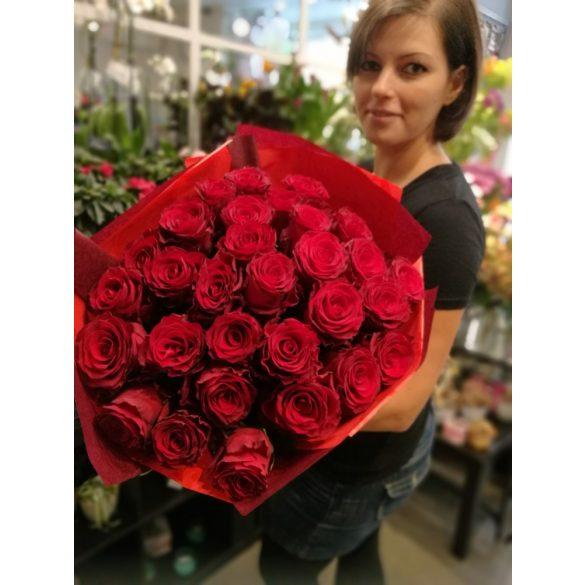 Rózsacsokor 30 szálas