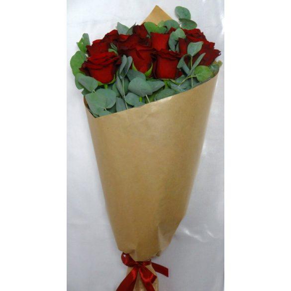 Romantikus rózsa csokor