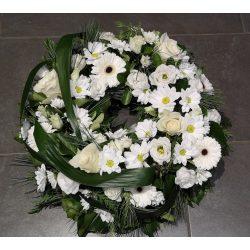 Görög koszorú vegyes virágokból