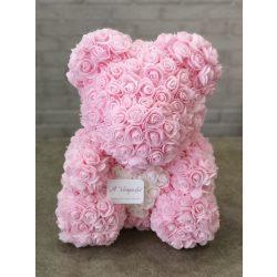 Nagy rózsaszín rózsamaci
