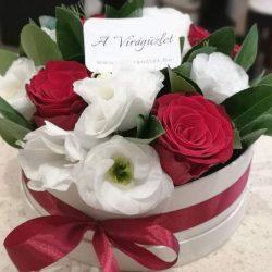 Rózsás virágdoboz