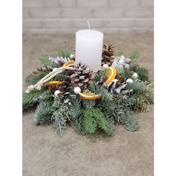 Hagyományos karácsonyi asztaldísz
