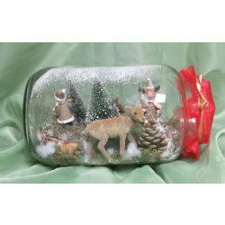 Befőttes üvegbe zárt karácsony