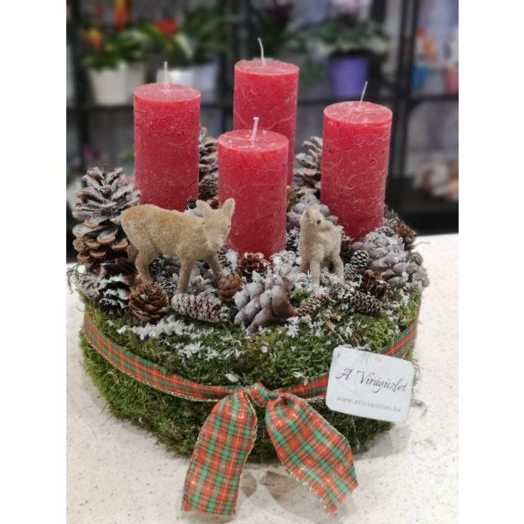 Karácsony szarvasokkal