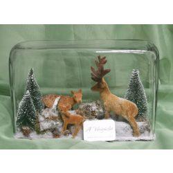 Üvegbe zárt karácsony